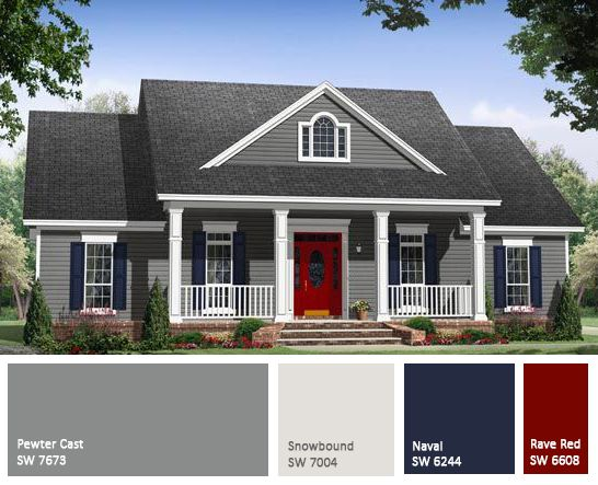 EXTERIOR COLOR SCHEMS.